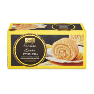 Aldi Swiss roll Citron
