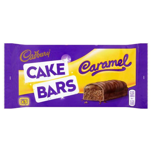 Cadbury Cake Bars Caramel