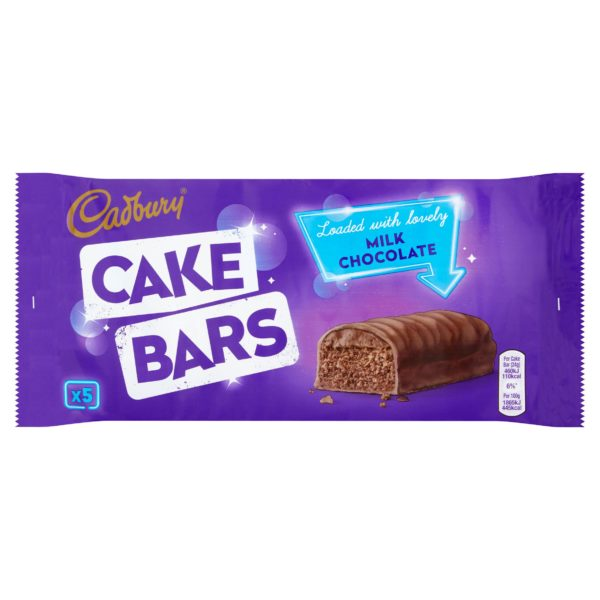 Cadbury Cake Bars Milk chocolate