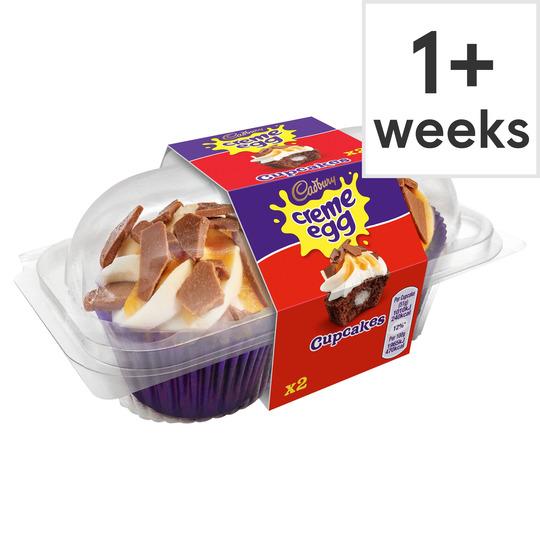 Cadbury Cupcakes egg creme 2pc