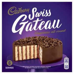 Cadbury Swiss Gâteau Chocolat