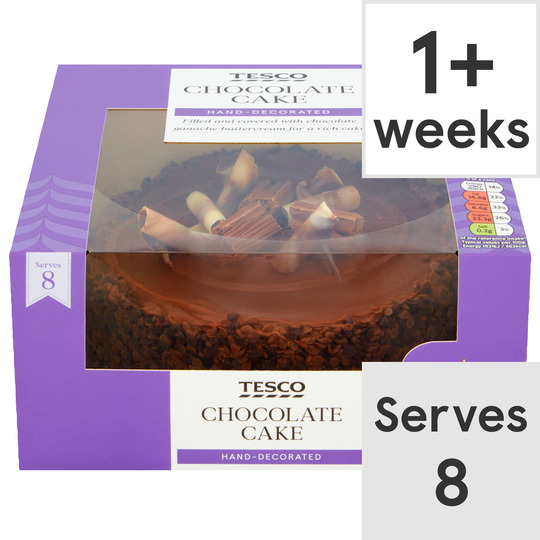 Tesco Chocolate cake