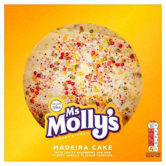 Ms Molly's Madeira Cake