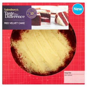 Sainsbury's Red Velvet Cake, Taste the Difference (S)