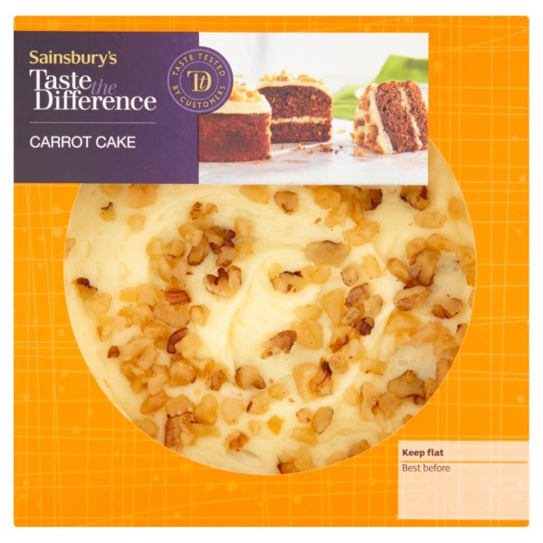 Sainsbury's Carrot Cake, Taste the Difference (S)