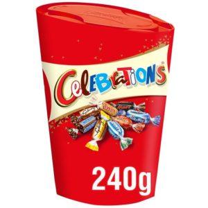 Celebrations 240gr