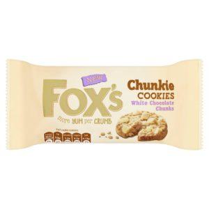 Fox's cookies chocolat blanc
