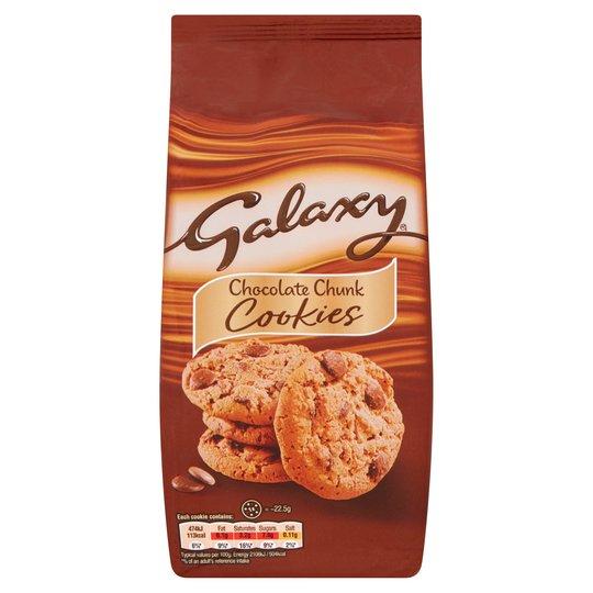 Galaxy Cookies Chocolat