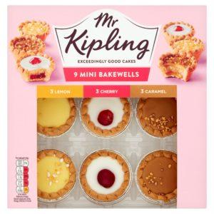 Mr Kipling mix