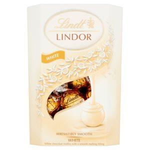 Lindt Lindor White Chocolate 200gr