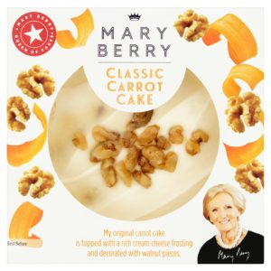 Marry Bery Carrot Cake