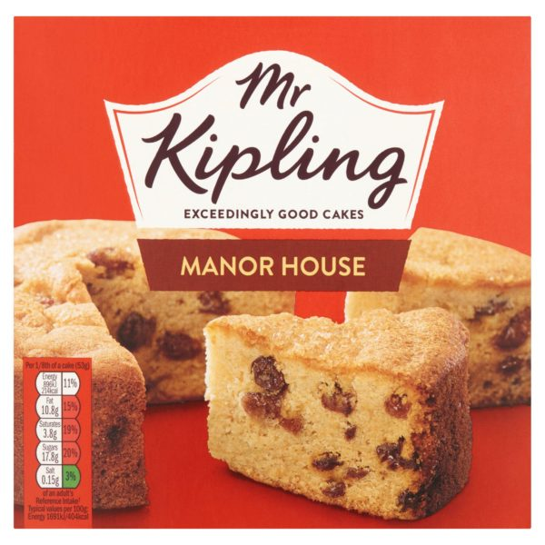 Mr Kipling Fruit Cake