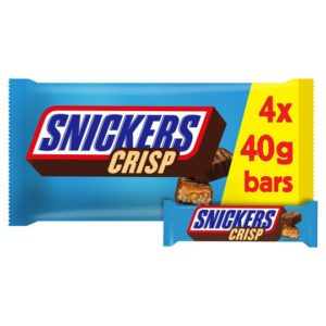 Snickers crisp 4pc