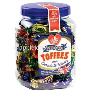 Walkers Assorted Toffees Jar 450gr