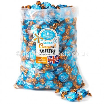 Walkers Salted Caramel Toffees 2.5kg